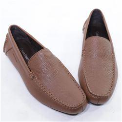 Calvin Klein Men's Miguel Tumbled Leather Oxford-
