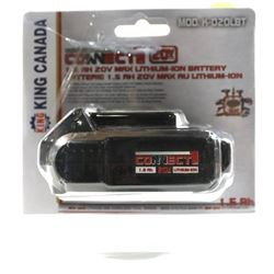King Canada K-020LBT 20V Max Li-Ion Battery for 20