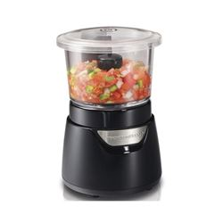 Hamilton Beach 72860C 3-Cup Glass Food Chopper- Bl
