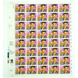 Original Sheet (40) 'ELVIS' USA 29 Cents