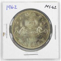 1962 Canada Silver Dollar MS-62