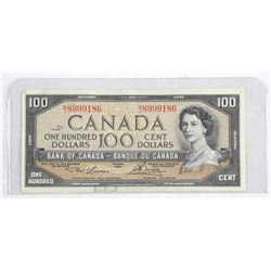 Bank of Canada 1954 $100.