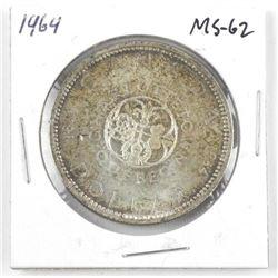 1964 Canada Silver Dollar. MS-62