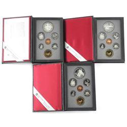 Lot (3) RCM Proof Sets: 1990, 1991, 1994 Silver