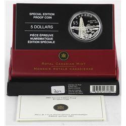 2005 - .9999 Fine Silver $5.00 Coin Special Editio