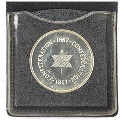 1867-1967 925 Silver RCM Medallion
