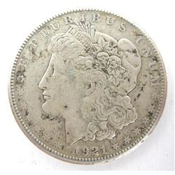 1921 USA Silver Morgan Dollar