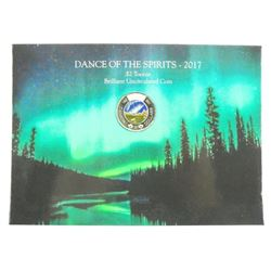 2017 Dance of the Spirits $2.00 Toonie - BU Coin '