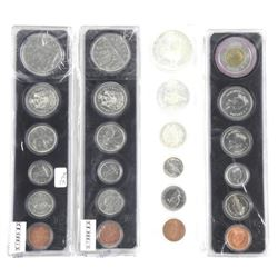Lot (4) Canada Year Sets: 1967 Silver, 1973, 1987,
