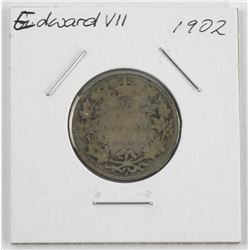 1902 Edward Silver 25 cent