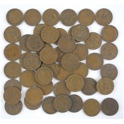 Lot (50) George V Canada One Cent