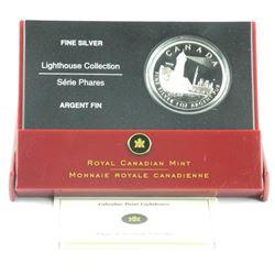 .9999 Fine Silver $20.00 Coin 'Lighthouse' LE/C.O.