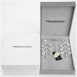 MMcrystal Designer Earrings.