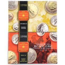 Lot (2) RCM 1998 Proof and Specimen Coin Sets