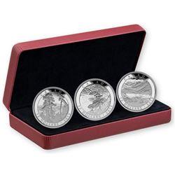 Franklin Carmichael $15.00 .9999 Fine Silver 3 Coi
