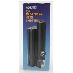 Waltex Microscope 15x with Light Box