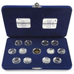 1992 Sterling Silver 25 Cent Collection with Loon