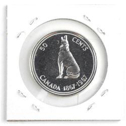 1967 Canada Silver 50 Cent