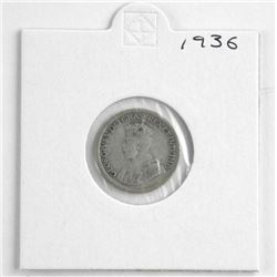 1936 Canada Ten Cents