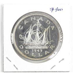 1949 Canada Silver Dollar (SXR)