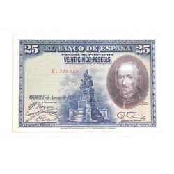 EL BANC DE ESPANA 25 PESETAS 1928