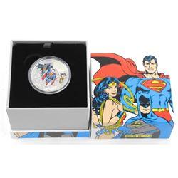 .9999 Fine Silver $20.00 Coin 'DC Comics - The Trinity' LE/C.O.A.