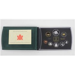 RCM 2001 Proof Coin Set 925 Silver (SSM)