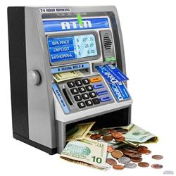 Ben Franklin Toys Kids Talking ATM Machine Savings