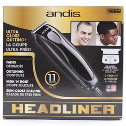 Andis 11pc Clipper Set Headliner (29555)