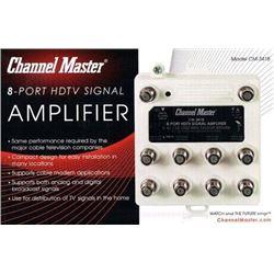 Channel Master CM-3418 8-Port Distribution Amplifi