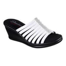 Skechers Women's RUMBLERS - Hotshot Wedges- White-