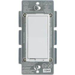 GE Z-Wave Plus Smart Control Light Switch- Wall- R
