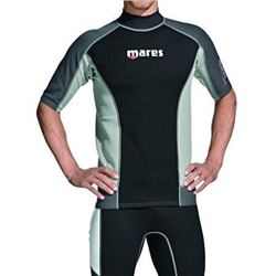 Mares 482062-M Short Sleeve Trilastic Rash Guard-