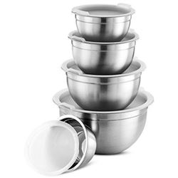 FineDine Premium Various Sizes Stainless Steel Mix