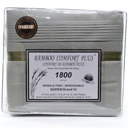 Queen Bamboo Comfort 1800 Sheet Set - MSR 199.00