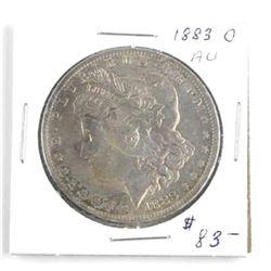 (LUN 07) 1883 (O) USA Silver Morgan Dollar. (AU) (