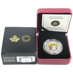 2013 50 Cent Coin Lenticular Snowman
