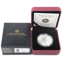 2013 .9999 Fine Silver $10.00 Coin 'Snake'