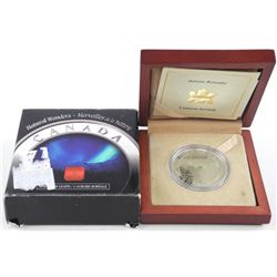 .9999 Fine Silver $20.00 Coin 'Northern Lights' LE