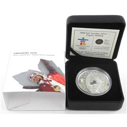 925 Sterling Silver $25.00 Olympic Coin 'Figure Sk
