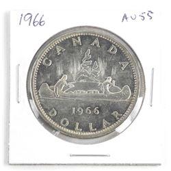 1966 Canada Silver Dollar AU55