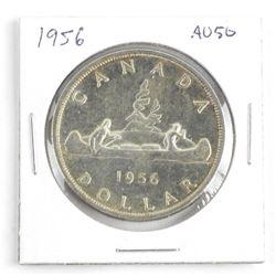 1956 Canada Silver Dollar AU50