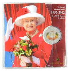 The Queen's Diamond jubilee 1952-2012 50 Cent Coin Gift Folio