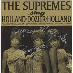 """The Supremes Signed """"The Supremes Sing Holland Dozier Holland"""" Album"""