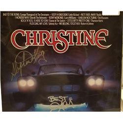 Stephen King and Dion Signed Christine Soundtrack