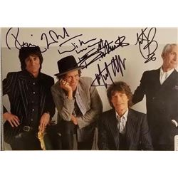 The Rolling Stones Signed Photo