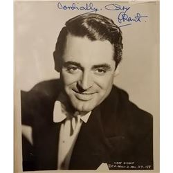 Cary Grant Signed Photo