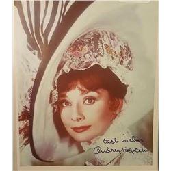 Audrey Hepburn Signed Photo