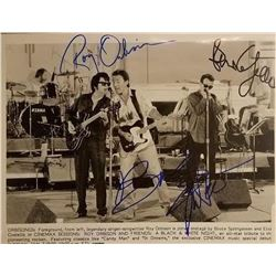 Orbison, Springsteen and Costello Signed Photo