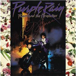 "Signed Prince ""Purple Rain"" Album"